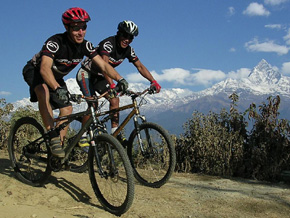 Mountain Biking as part of a custom trip/multi-activity adventure
