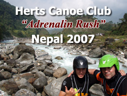 Herts Canoe Club 'Living The Dream' in Nepal