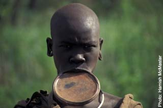 The Mursi tribes people of Ethiopia